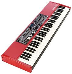 Clavia Nord Electro 5D 73 - Thomann  www.thomann.de #music #gift #present #xmas #christmas #keys #gear #BlackAndWhite #stage #piano  #synthesizer #synth #StagePiano