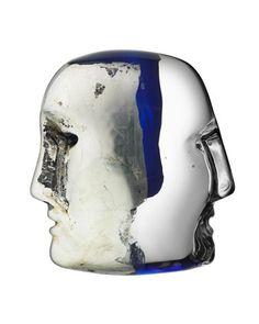 """""""Janus"""" Brains Sculpture"""
