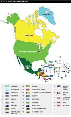 United States Of America And Canada Map.The Map Shows The States Of North America Canada Usa And Mexico