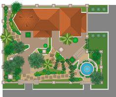 [ How Draw Landscape Design Plan Sample Floor Apartment ] - Best Free Home Design Idea & Inspiration Garden Design Software, Landscape Design Software, Garden Design Plans, Modern Garden Design, Landscaping Software, Garden Landscape Design, Garden Landscaping, Uk Landscapes, Plan Sketch