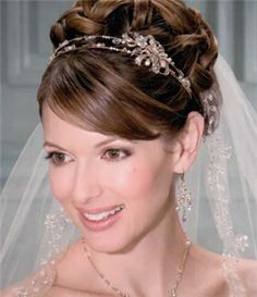 Bel Aire Bridal Headpiece - 8670 (Bridal Headpieces, Bel Aire Bridal Bridal Headpieces, Bel Aire Bridal)
