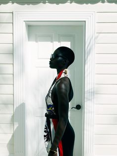 Jeneil Williams by Laurie Bartley for Elle US September 2011. #fashion #photography #modelsofcolor