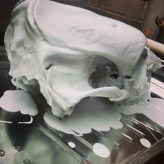 how to prepare a cow skull for painting and remove odor
