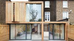 Coup de coeur pour cette extension dans le district d'Hackney à Londres. Le studio local Cousins & Cousins a été invité à améliorer la disposition
