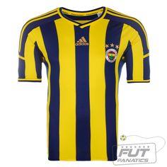 Camisa Adidas Fenerbahce Home 2015 - Fut Fanatics - Compre Camisas de Futebol Originais de Times do Brasil e Europa