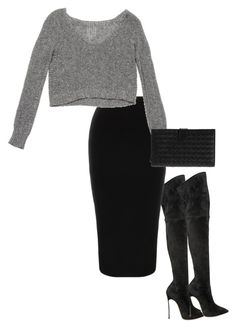 Untitled #516 by queennarg on Polyvore featuring polyvore, fashion, style, Casadei, Bottega Veneta and clothing