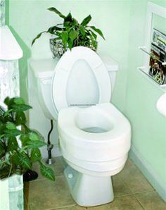 "Invacare® Raised Toilet Seat by Invacare. $20.98. Dimensions: width 14.75"", depth 15.25"". White. weight capacity:250lbs. Product weight:3lbs6oz. ISG6854MEA Features: -Recommended for use with toilet safety frame.-Provides added height and comfort for variety of users.-Comfortable, contoured composite seat is easy to clean.-Elevates existing seat height.-Weight capacity: 250 lbs. Dimensions: -5'' Height. Warranty: -Limited lifetime warranty."
