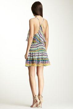 Haute Hippie Forever Young Ruffle Silk Tank Mini Dress on HauteLook