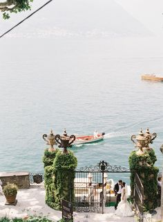 Breathtaking Lake Como, Italy Wedding | Image by Rochelle Cheever