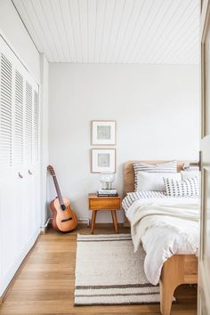 Cool and Collected: Project Hof Bedroom Makeover using Ammonite by Farrow and Ball