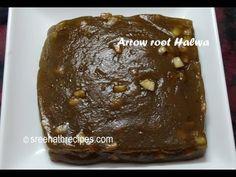 Arrowroot(canna) Halwa - Koova Verakiyathu - Koova Payasam - Thiruvathira Special Recipe - YouTube