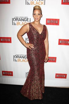 Dascha Polanco (Dayanara Diaz) at the Netflix Presents 'Orange is the New Black' premiere in NYC. #OITNB