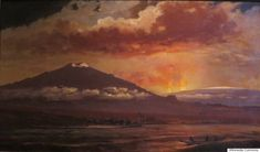 These Haunting Paintings Show What Hawaii's Volcanoes Looked Like Before Color Photography | The Huffington Post
