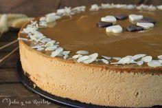 Una tarta mousse de dulce de leche que está deliciosa, sencilla, suave y riquísima, que podéis ver en mi blog Julia y sus recetas. Tiramisu, Cheesecake, Ethnic Recipes, Desserts, Food, Creme Brulee Cheesecake, Cake Recipes, Dulce De Leche, Pastries