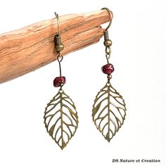 Gift idea for woman red garnet jewelry by DSNatureetCreation https://www.etsy.com/listing/241990749/gift-idea-for-woman-red-garnet-jewelry