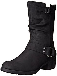 Hush Puppies Women's Emelee Overton Winter Boot, Black, 10 M US * Find out more about the great product at the image link.