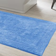 Made For Bare Feet In Soft Organic Cotton Chenille This Beautiful Bath Rug Only Gets Better And With Washing Use Woven Large Chen