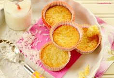 Queijadinha is a quick, GF Brazilian coconut muffin made from 4 ingredients.