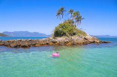 Melhores praias de Angra dos Reis  RJ Maria Clara, Water, Travel, Outdoor, Pig Island, School Holidays, Big Island, Boating, Destinations
