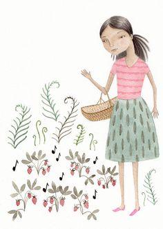 Tiny Strawberry Songs by Julianna Swaney