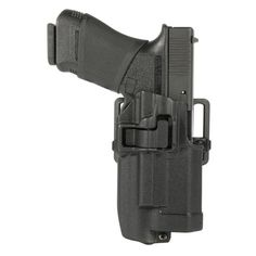 For years Blackhawk's popular SERPA holsters have set an industry standard in sidearm security, reliability and carrying convenience. Now, Blackhawk presents the SERPA Level 2 Light Bearing Holster for use with the rail-mounted Xiphos NT Light. This holster securely holds specific firearm models fitted with the tactical light and produces an audible click upon re-holstering that ensures safe carry. There is a passive retention detent adjustment screw that operates with the Auto Lock relea...