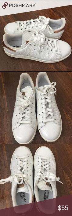 on sale 19ecc d6195 Adidas Stan Smith in Rose Gold Worn only once. Looks completely new. Women  size