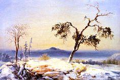 Peder Balke ~Landscape from Finnmark, 1860