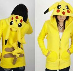 The Custom Erosdiy Pokemon Hoodie by Eros DIY Design is Perfect for Gamers #geeky trendhunter.com