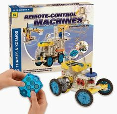 @Thames & Kosmos UK  Remote-Control Machines from @MindWare