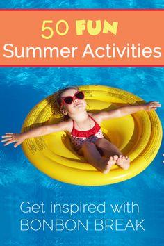 50 Fun Summer Activities