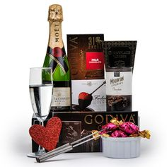Our wine gift baskets and champagne gift baskets offer gourmet treats for friends, family, or clients. We choose only the best from gourmet chocolatiers and vintners like Godiva and Dom Perignon. Order one today to show your appreciation. Champagne Gift Baskets, Wine Gift Baskets, Gourmet Gift Baskets, Mothers Day Baskets, Dom Perignon, Champagne Toast, Veuve Clicquot, Moet Chandon, Fondue