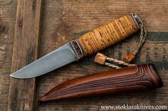 stoklasa knives - birch bark