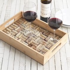 DIY Wine Corks via LOVE LETTERS TO HOME.