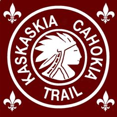 The historic Kaskaskia Cahokia Trail, the oldest road in Illinois. Its southern genesis is on Kaskaskia Island. Waterloo Illinois, Randolph County, Clinton County, Trail, Road Trip, Old Things, Immaculate Conception, Field Trips, Country Kitchen