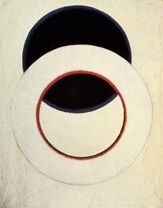 Aleksandr Rodchenko. White Circle, 1918.