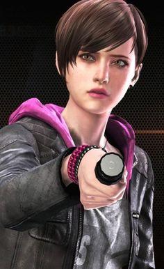 Resident Evil Anime, Resident Evil Girl, Moira Burton, Revelation 2, It's Always Sunny, Best Games, Video Games, Saga, Evil Games