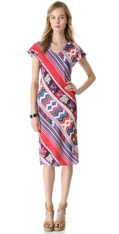 New styles by Carolina K. Cute V Neck #Dress