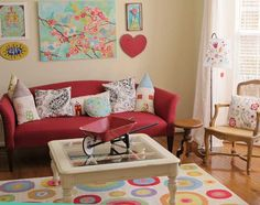 Colors and shapes: inspire co.: spring nesting...