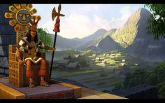 Incan Chair & Crown
