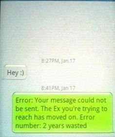What to so when your ex texts lol