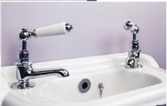 Silverdale Berkeley Basin Pillar Taps for Cloakroom Basin - BYTBSCLPCHR