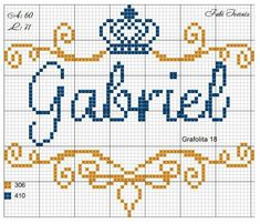 Recently shared miguel em ponto cruz com coroa ideas & miguel em ponto cruz com coroa pictures Cross Stitch Love, Cross Stitch Alphabet, Cross Stitch Designs, Cross Stitch Patterns, Embroidery Tools, Cross Stitch Embroidery, Knitting Charts, Knitting Stitches, Crochet Projects