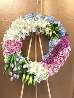 Send Stars and Stripes Wreath - My Glendale Florist in Glendale, CA from Glendale Florist, the best florist in Glendale. All flowers are hand delivered and same day delivery may be available. Funeral Flower Arrangements, Orchid Arrangements, Funeral Flowers, Flower Room Decor, Flower Decorations, All Flowers, Wedding Flowers, Casket Flowers, Funeral Sprays