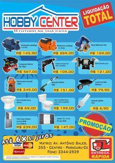 Panfleto hobby center