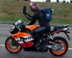 Sweet ride on a 2005 Repsol CBR 1000 RR