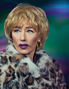 Cindy Sherman. Another example of how make up can change an appearance and how Sherman can inhabit another personality. Think about the clothing you can wear. You could create an image on photoshop too with a variety of backgrounds.