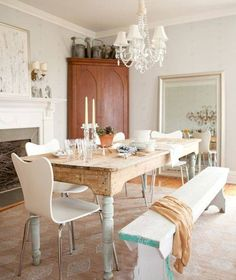 Farmhouse Style Decorating | Dining Room : Decorating Small Dining Room Ideas, Farmhouse Table For ...