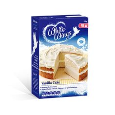 Vanilla Cake | White Wings