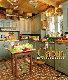 Cabin kitchen - so country~
