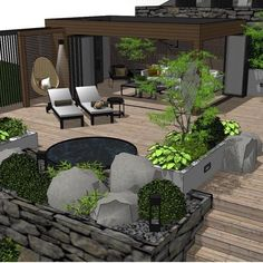 Outside Living, Outdoor Living, Outdoor Decor, Small Garden Design, Patio Design, Planting Shrubs, Planting Flowers, Stepping Stone Paths, Lean To Greenhouse
